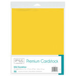 Therm O Web - Premium Cardstock - 8.5 x 11 - Wild Dandelion - 10 Pack