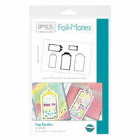 Therm O Web - Foil-Mates - 5.5 x 8.5 - Tag Borders