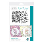 Therm O Web - Foil-Mates - 5.5 x 8.5 - Background - Bountiful Flourish