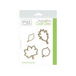 Therm O Web - Stamp n Foil - Craft Dies - Thankful Leaves