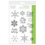 Therm O Web - Christmas - Stamp n Foil - Clear Acrylic Stamps - Baby It's Cold Outside