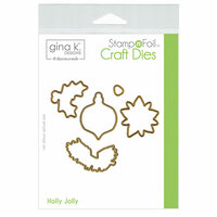 Therm O Web - Christmas - Stamp n Foil - Craft Dies - Holly Jolly