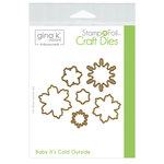Therm O Web - Christmas - Stamp n Foil - Craft Dies - Baby It's Cold Outside