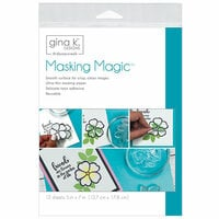 Gina K Designs - Masking Magic Sheets - 5 x 7