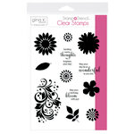 Therm O Web - Stamp 'n Stencil - 5.5 x 8.5 - Stamp Set - Crazy Daisy
