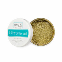 Gina K Designs - Glitz Glitter Gel - 2.3 Ounces - Gold
