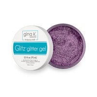 Gina K Designs - Glitz Glitter Gel - Lovely Lavender