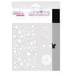 Rina K Designs - Stamp 'n Stencil - 6 x 6 Stencil - Sending Sunshine
