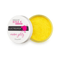 Rina K Designs - Neon Glitz Glitter Gel - Hello Yellow