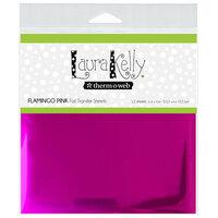 Therm O Web - Deco Foil - 6 x 6 Transfer Sheet - Flamingo Pink