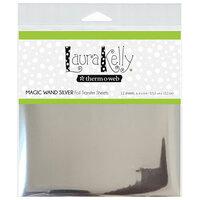 Therm O Web - Deco Foil - 6 x 6 Transfer Sheet - Magic Wand Silver