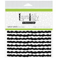 Therm O Web - Deco Foil - 5.75 x 5.75 Toner Sheet - Wacky Waves