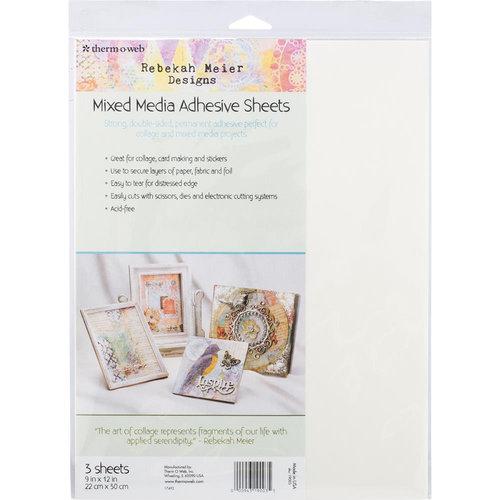 Therm O Web - Mixed Media - 9 x 12 - Adhesive Sheets