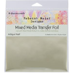 Therm O Web - Transfer Foil - 6 x 6 - Antique Pearl
