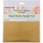 Therm O Web - Transfer Foil - 6 x 6 - Old Gold