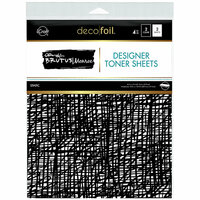 Therm O Web - iCraft - Deco Foil - 8.5 x 11 - Designer Toner Sheets - Static - 4 Pack