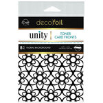 Therm O Web - Unity - Deco Foil - Toner Card Fronts - Floral Background
