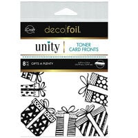 Therm O Web - Unity - Deco Foil - Toner Card Fronts - Gifts A Plenty
