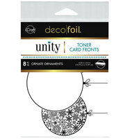 Therm O Web - Unity - Deco Foil - Toner Card Fronts - Ornate Ornaments