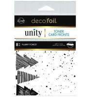 Therm O Web - Unity - Deco Foil - Toner Card Fronts - Flurry Forest