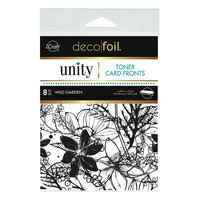 Therm O Web - Unity - Deco Foil - Toner Card Fronts - Wild Garden
