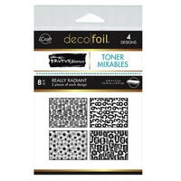 Therm O Web - iCraft - Deco Foil - 4.25 x 5.5 Toner Mixables - Really Radiant - 8 Pack