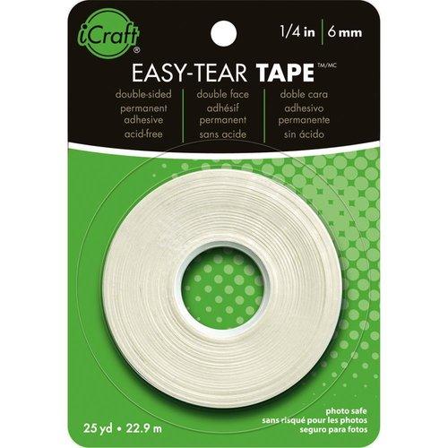 Therm O Web - iCraft - Easy-Tear Tape - .25 Inch x 27 Yard Roll