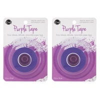 Therm O Web - iCraft - Purple Tape - Removable - 1.5 Inches x 15 Yards - 2 Pack