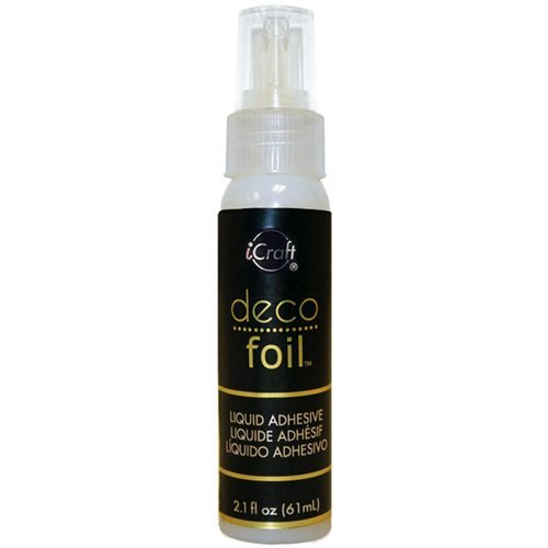 Therm O Web - iCraft - Deco Foil - Liquid Adhesive - 2.1 Fluid Ounces