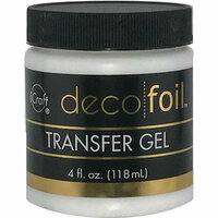 Therm O Web - iCraft - Deco Foil - Transfer Gel - 4 Ounces