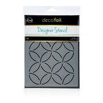 Therm O Web - iCraft - Deco Foil - 6 x 8 - Designer Stencil - Abstract Circles