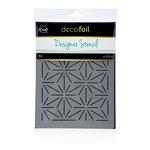 Therm O Web - iCraft - Deco Foil - 6 x 8 - Designer Stencil - Starburst