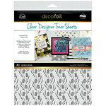 Therm O Web - iCraft - Halloween - Deco Foil - 8.5 x 11 - Clear Designer Toner Sheets - Wheat Fields