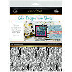 Therm O Web - iCraft - Halloween - Deco Foil - 8.5 x 11 - Clear Designer Toner Sheets - Endless Leaves