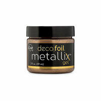 Therm O Web - iCraft - Deco Foil - Metallix Gel - 2 Ounces - Aged Copper
