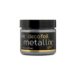 Therm O Web - iCraft - Deco Foil - Metallix Gel - 2 Ounces - Glazed Pewter