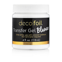 Therm O Web - Deco Foil - Transfer Gel - Blanco - 4 Ounces