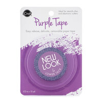 Therm O Web - iCraft - Purple Tape - Removable - 0.5 Inches x 15 Yards