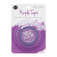 Therm O Web - iCraft - Purple Tape - Removable - 1.5 Inches x 15 Yards - New Look