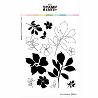 The Stamp Market - Clear Photopolymer Stamps - Botanicals