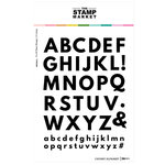 The Stamp Market - Clear Photopolymer Stamps - Chunky Alphabet