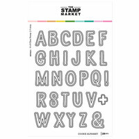 The Stamp Market - Clear Photopolymer Stamps - Cookie Alphabet