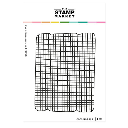 The Stamp Market - Clear Photopolymer Stamps - Cooling Rack
