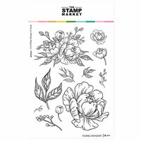 The Stamp Market - Clear Photopolymer Stamps - Floral Bouquet
