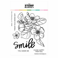 The Stamp Market - Clear Photopolymer Stamps - Friendly Bunch