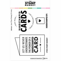 The Stamp Market - Clear Photopolymer Stamps - Handstamped