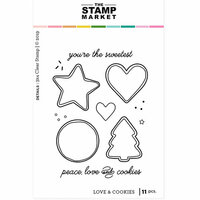 The Stamp Market - Clear Photopolymer Stamps - Love & Cookies