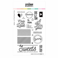 The Stamp Market - Clear Photopolymer Stamps - Made with Love