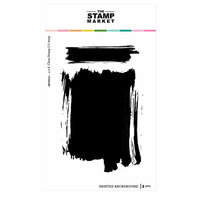 The Stamp Market - Clear Photopolymer Stamps - Painted Background