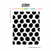 The Stamp Market - Clear Photopolymer Stamps - Painted Polka Dot